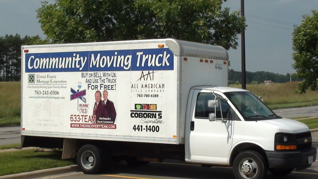 Use this moving truck for FREE!